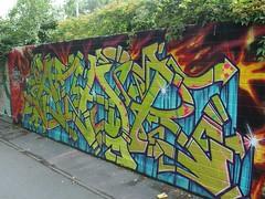 ATAIR (mkorsakov) Tags: dortmund nordstadt borsigplatz graffiti wand wall bunt colored atair oldschool