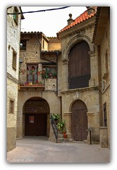 Cretas. Teruel. (jesus.de.leon1) Tags: cretas teruel rincones piedra arquitectura aragon urbana paisajeurbano matarraña españa medieval