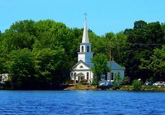 China Baptist Church (Icanpaint1) Tags: chinabaptistchurch church chinalakemaine lake maine ruralmaine water wjtphotos