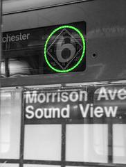 The View (Brother Christopher) Tags: brotherchris thebronx bronx bx thebx nyc newyorkcity subway subwayphotography train cart daylight summer daytime explore inexplore bnw blackandwhite monochrome monochromatic 6train greenline commute travel work