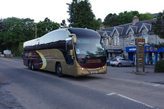 IMGP0908 (Steve Guess) Tags: hsk647 citylink gold plaxton elite coach bus aviemore highlands scotland gb uk parks hamilton volvo b12b