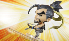 Hanzo (LegionCub) Tags: overwatch blizzard cutebutdeadly mini videogame character toy soldier 76 phara lucio hanzo bastion figures