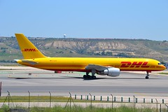 EAT Leipzig Boeing 757-2Q8(PCF) msn 29442 D-ALES (djwilliams1990) Tags: madrid barajas adolfosuarez spain aviation aircraft