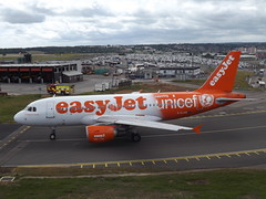G-EJAR Airbus A319-111 EasyJet Airline Company Ltd (Aircaft @ Gloucestershire Airport By James) Tags: luton airport gejar airbus a319111 easyjet airline company ltd eggw james lloyds