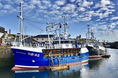 OB45 Ròis Mhàiri - MacduffHarbour - Aberdeenshire Scotland - 3/7/2018 (DanoAberdeen) Tags: roismhairi oban roismhari macduff danoaberdeen candid amateur 2018 autumn summer winter spring seafarers maritime whitefish trawlers shipbuilding trawlermen scottishtrawlers scottishwater boat vessel ship lifeatsea shipyard peterhead fraserburgh banff aberdeen aberdeenshire haddock cod salmon fisheries creels porn clouds wife ob45 macduffscotland macduffshipbuilders uk scottish british shipspotting