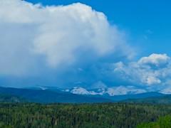 Nihahi Ridge Scramble - The forecast is for sunny skies, let's go hiking! (benlarhome) Tags: kananaskis alberta canada nihahiridge trail path hike scramble rockies rockymountain