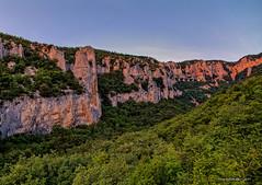 Gornji dio Vele Drage odmah po zalasku (MountMan Photo) Tags: veladraga učka istra croatia landscape kanjon canyon vapnenačkitornjevi limestonetowers