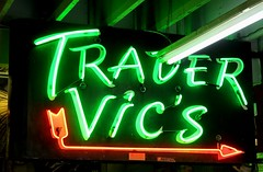 Vintage Trader Vic's San Francisco Neon - Sign by Electrical Products Corporation (hmdavid) Tags: vintage sign neon electricalproductscorporation epco tradervics sanfrancisco california tiki
