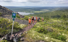 Wednesday Morning Hiking Group   Ochre hill! (hynes.jane) Tags: hikes hike trail group summer sun health