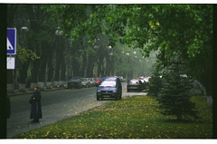 Metrobudivska st. (mgerasym) Tags: kiev kyiv ukraine ua film 35mm nikonf65 tokinaatxpro2870 fujipro160c