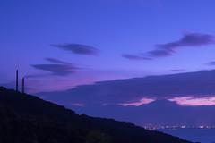 P7214695 (kunmorita) Tags: star 星 海 空 夜空 夜間撮影 sea sky night 夕焼け マジックアワー magic hour 黄昏