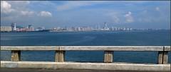 Malaysia-Penang Bridge 20180121_123514 LG (CanadaGood) Tags: asia asean seasia malaysia penang highway bus bridge building sea shore canadagood 2018 thisdecade color colour green cameraphone
