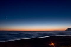 Cannon Beach at night (life is good (pete)) Tags: cannonbeach oregoncoast oregon fujifilm xt2 vacation summer