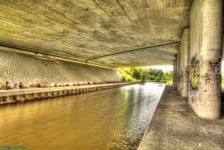 A Viaduct in Westzaan.