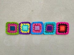 2018-06-24_07-20-23 (crochetbug13) Tags: crochet crocheted crocheting crochetsquare grannysquare usewhatyouhave repurposedcrochet