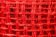 RED (stadtbrautphoto) Tags: red ribbonoftrees baumband jute standardlength standardlänge juteband elastictreeband roughlywovenjute wovennaturalmaterials noplastic gardenequipment gartenbedarf gardenproducts gardenconsumableproducts decoration gardening gardeningpurposes gardensupplies lightlytighten especiallypractical festziehen anbinden toknottogether verknoten baumbinder pflanzenbinder delicateplants rankhilfe growingaids scaffoldstructure rot intensecolour intensivefarbe richcolour strongcolour intensecolor dyed coloured tinged singlecolor unicoloured einfarbig macromondays linesymmetry
