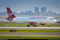 [JFK.2011] #Virgin.America #VX #Airbus #A320 #N633VA #the.tim.clark.express #awp (CHR / AeroWorldpictures Team) Tags: virgin america airbus a320214 cn 3230 eng cfmi cfm565b4p reg n633va rmk named thetimclarkexpress history aircraft first flight test fwwbe built site toulouse lfbo france delivered virginamerica vx vrd leased saam config cabin c8y138 tsf alaskaairlines as asa smbc a320 plane aircrafts airplane planes planespotting newyork jfk kjfk ny usa nikon d300s zoomlenses nikkor 70300vr raw lightroom aeroworldpictures awp chr