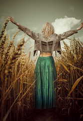 Let the harvest begin (Colby Files Photography) Tags: colbyfiles adventure barnstormtour beauty blonde boots fashionart fashon greenhouse roads roadtrip santefe selinabaca softlighting theadventure travel