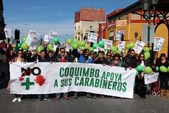 01.07.018 Marcha Nacional por la No Violencia a Carabineros de Chil (MunicipalidadCoquimbo) Tags: municoquimbo coquimbopuertolindo coquimbopereira coquimbo