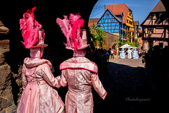 Carnival of Venice in Riquewihr 2018 - Carnaval vénitien de Riquewihr 2018 (2) (Cloudwhisperer67) Tags: pink canon fantastic carnival riquewihr alsace france 2018 parade 760d venetian masquerade ball masked mask venise venezzia venice italy cloudwhisperer67 fest great colors flashy incredible amazing photgraphy love lovely adorable blue robes robe costume costumes bal masqué divine comedy woman splendid urban city cityscape magic magical moment poetry image photography fantasy bokeh travel trip color people carnaval art fun europe europa 760 vénitienne rêveries vénitiennes july disguise