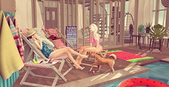 Just another summer day (ecerinei) Tags: olive uber akumadrops gachaland elua fanshii hairfair since1975 beedesign deaddollz sways dahlia junk