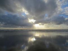 Cannon Beach near Sunset (altfelix11) Tags: oregon cannonbeach pacificocean beach ocean clouds sky sunset clatsopcounty