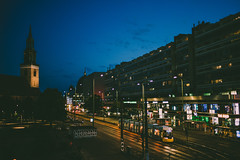 Berlin Summer night (mripp) Tags: art vintage retro urban city stadt berlin mitte germany deutschland night nacht sony voigtlaender 40mm f12