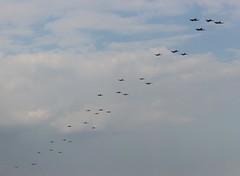 Flying Legends Balbo (R.K.C. Photography) Tags: flyinglegends airshow warbirds formation balbo sky aircraft aviation 2018 duxford iwm cambridgeshire england unitedkingdom uk flypast canoneos100d