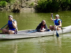 SANY0049 (CampCourageous) Tags: 2018 20180715 summer campers too sure about this canoe ride
