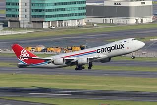 LX-VCA, 747-8F, Cargolux, Hong Kong