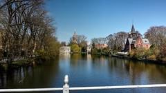 Minnewaterpark (Raúl Alejandro Rodríguez) Tags: agua water estanque pond árboles trees parque park minnewaterpark brujas bruges bélgica belgium