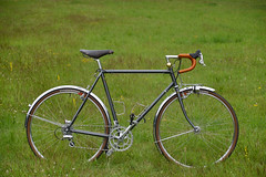 Dawes Galaxy Randonneur (signalgrey) Tags: randonneur dawes galaxy audax fahrrad reiserad reynolds cyclotouriste bicycle bike steel 531 st super tourist touring nitto nf22 front rack