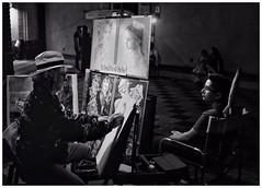 The Artist. Taormina, Sicily (Pauls Pixels) Tags: flickr 1000 allcontent