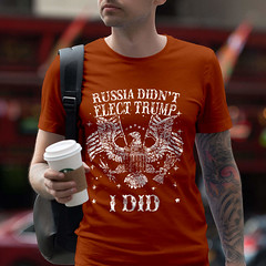 Russia Didn't Elect Trump. I Did. T-Shirt. (Sons of Liberty Tees) Tags: 2a 2ndamendment americanpride apparel clothing defendthesecond donttreadonme firearms happy igmilitia instagood instastyle liberallogic libtards menfashion mensfashion mensstyle menstyle menswear molonlabe nra patriot patriotic pewpew righttobeararms shootingrange sonsoflibertytees style tshirts wethepeople