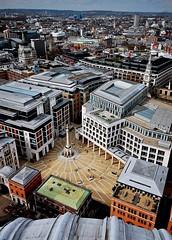 20110402 Paternoster Square ([Ananabanana]) Tags: nikon d40 gimp photoscape 1020mm 1020 sigma sigma1020mm sigma1020mmf456exdchsmnikonfitlens sigma1020mmf456exdchsm sigma1020mmf456 nikonistas nikonista uk unitedkingdom london architecture building skyscraper stpauls cathedral city monument paternostersquare