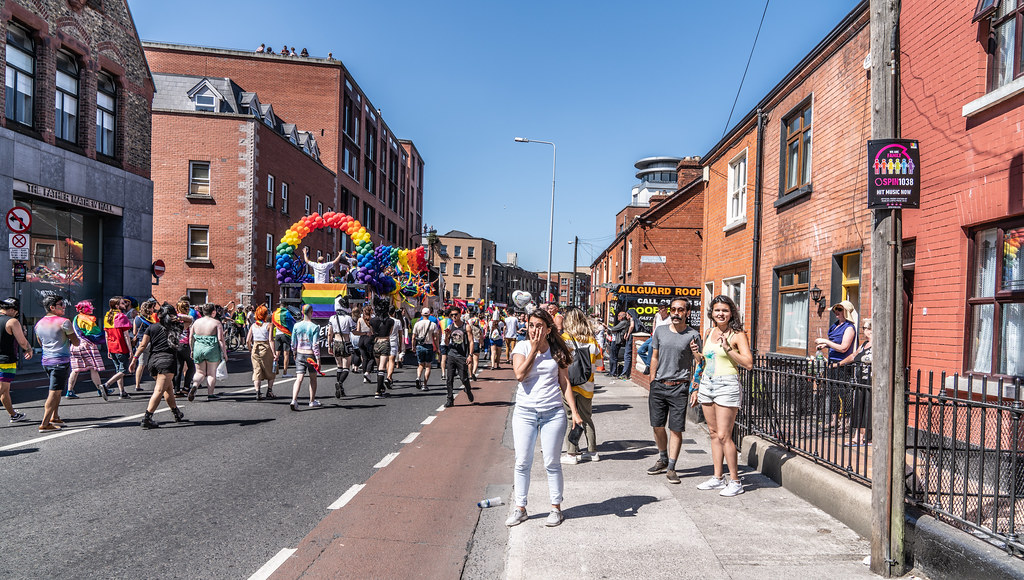 ABOUT SIXTY THOUSAND TOOK PART IN THE DUBLIN LGBTI+ PARADE TODAY[ SATURDAY 30 JUNE 2018] X-100229