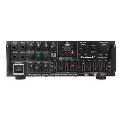 Sunbuck AV-MP326C AC 220V/DC 12V 600W 2CH EQ Power Stereo Amplifier Support USB Disk SD (1291536) #Banggood (SuperDeals.BG) Tags: superdeals banggood electronics sunbuck avmp326c ac 220vdc 12v 600w 2ch eq power stereo amplifier support usb disk sd 1291536