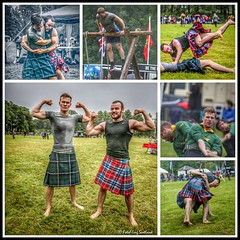 Today in Luss   - Highland Games (FotoFling Scotland) Tags: luss lusshighlandgathering wrestling kilt sport highlandgames