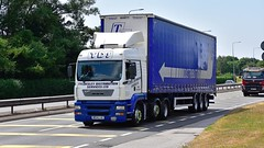 MX04 LVC (Martin's Online Photography) Tags: erf truck wagon lorry vehicle freight haulage commercial transport a580 leigh lancashire nikon nikond7200