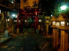 Petit sanctuaire shinto près du quartier Shinsekai à Osaka (Matrok) Tags: osaka ôsaka japon japan nihon kansai shinsekai sanctuaireshinto