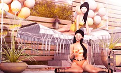 N°1281 - Summer & Friends ♥ (Rina Edenflower) Tags: taketomi kustom9 lelutka ysys powderpack misschelsea theepiphany tarte keke fameshed ariskea kalopsia trompeloeil secondlife secondlifefashion chicchica