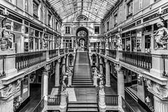 Le Passage Pommeraye (Grégory.Sachs) Tags: passagepommeraye architecture photoderue noiretblanc nantes batiment arche symetrie bâtiment monochrome boutique