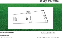 Lot 151 Brightvale Blvd, Wyndham Vale VIC