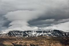 Along Highway 1 (1) (pni) Tags: sky cloud hill mountain fell view landscape frombuswindow þjóðvegur is18 iceland ísland pekkanikrus skrubu pni