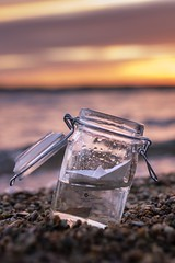 Ahoi (Melanie Martinu) Tags: evening germany oberpfalz bavaria outdoor clouds colorful sigmaart canon bokeh nature landscape papership glass water colors lake sky sunset