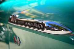 Hydramatic (taddzilla) Tags: chevy chevrolet 1956 pickup truck logo detail carshow classiccar dreamcarclassic chrome lettering hollywood florida 2012 allrightsreserved
