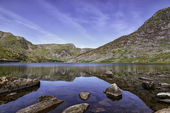 Llyn Ogwen (gmorriswk) Tags: longexposure reflection reflections ogwen snowdon snowdonia national park formatt hitech firecrest lake