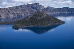 Wizard Island, Crater Lake National Park (benereshefsky) Tags: oregon nature naturalbeauty landscape outdoors water photography travel nationalpark craterlake volcanic