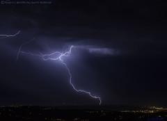 2018.06.20 - 230536 (NIKON D7200) [Carvalha] (Nuno F. C. Batista) Tags: clouds nuvens portugal lusoskies lightning relâmpago thunderstorm trovoada storm night sky nikon severeweather storms photography margemsul skies portuguese meteorology cumulunimbus d7200 arrudadosvinhos carvalha