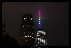 2018.06.23 Freedom Tower rainbow 6 (garyroustan) Tags: ny nyc newyore freedom tower gay pride lgbt month gaypride night usa